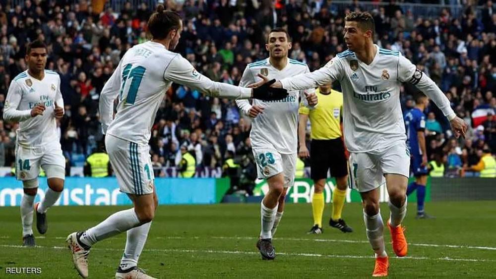 """تألق """"بي.بي.سي"""".. وريال مدريد يؤكد صحوته"""