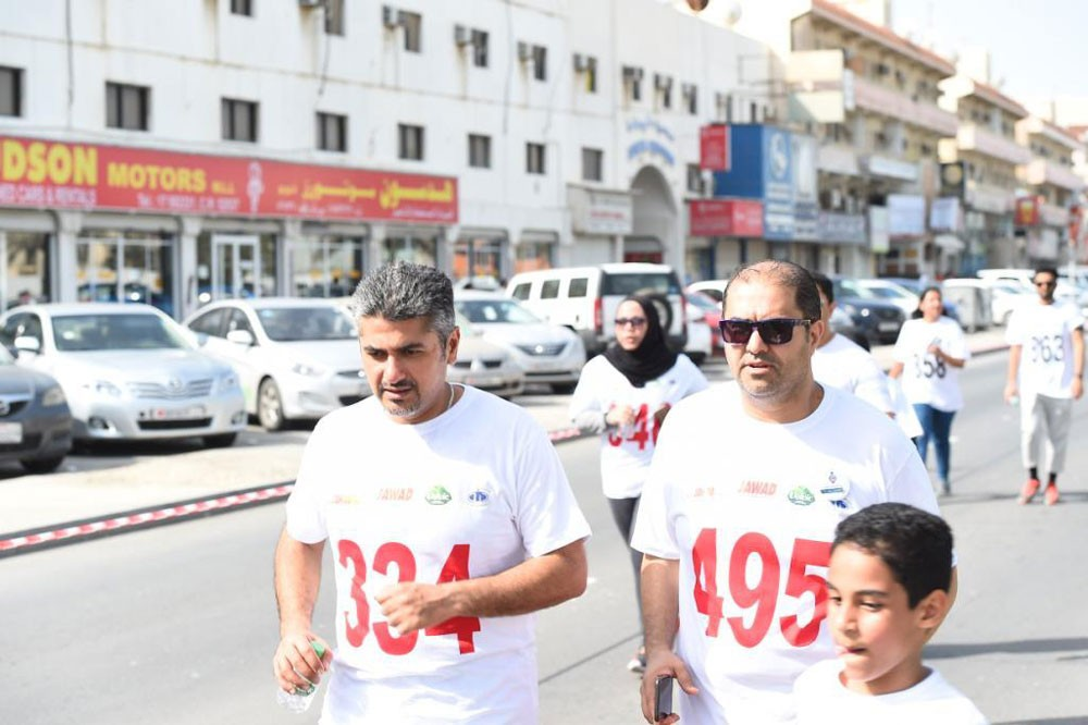 العصفور وجواد: ميني ماراثون جواد 11 يجسد صورة التكافل في المجتمع البحريني