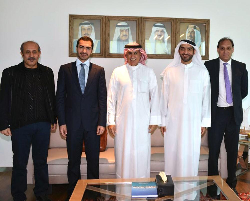 الزياني يجتمع برجل الأعمال السيد خالد ال شريف ويشيد بعطاءات القطاع الخاص