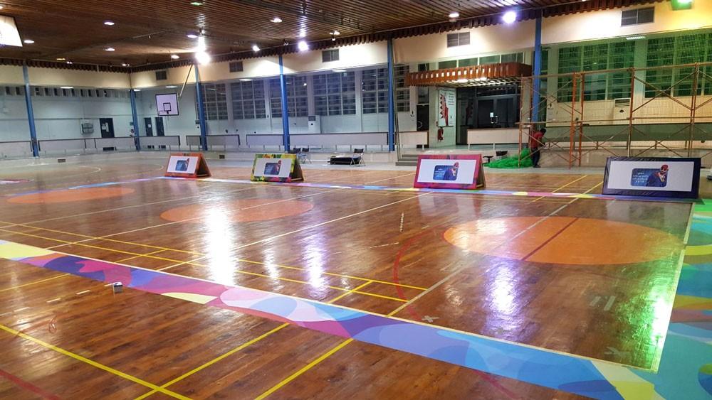 تتواصل منافسات كرة القدم للصالات والكرة الطائرة للطلاب