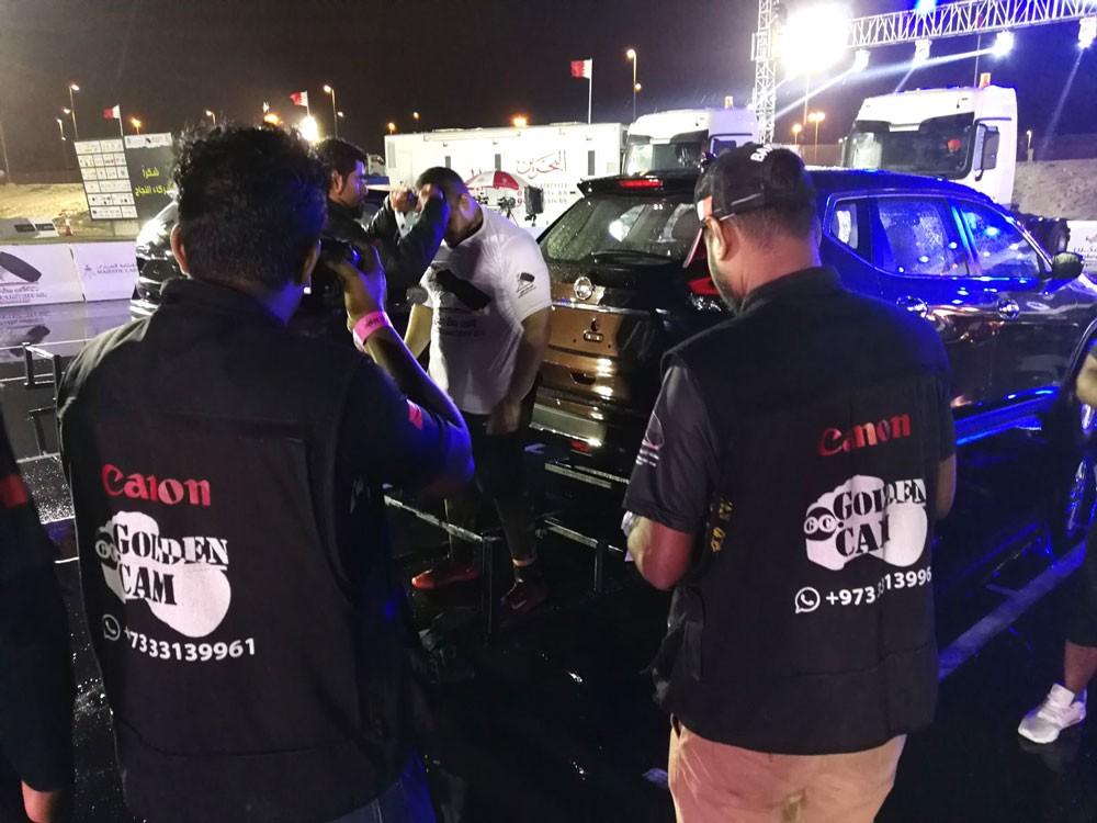 أستوديو جولد كام يشارك  في بطولة #أقوى_رجل_بحريني