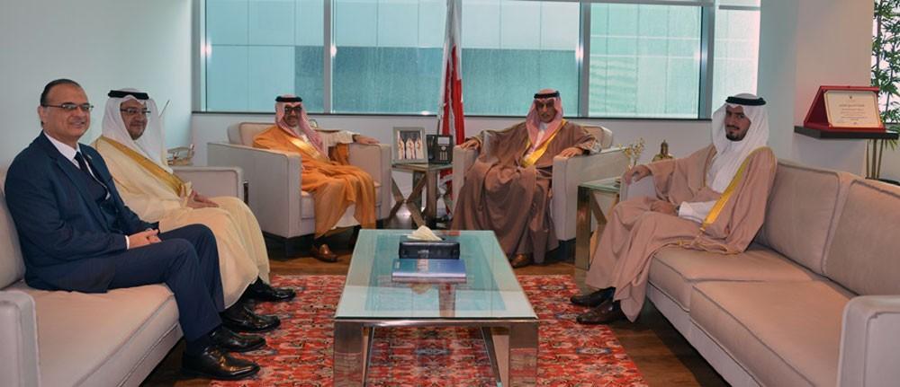 الزياني يجتمع برئيس منظمة السياحة العربية الدكتور بندر بن فهد آل فهيد