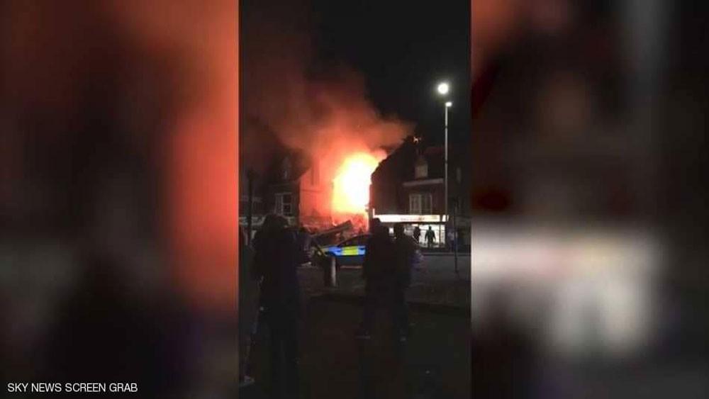 """انفجار في مدينة ليستر.. والشرطة تتعامل مع """"حادث كبير"""""""
