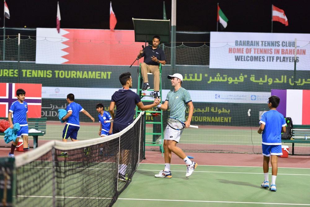 """نادي البحرين للتنس يبدأ الإعداد لإستضافة بطولة البحرين الدولية """"فيوتشر"""""""