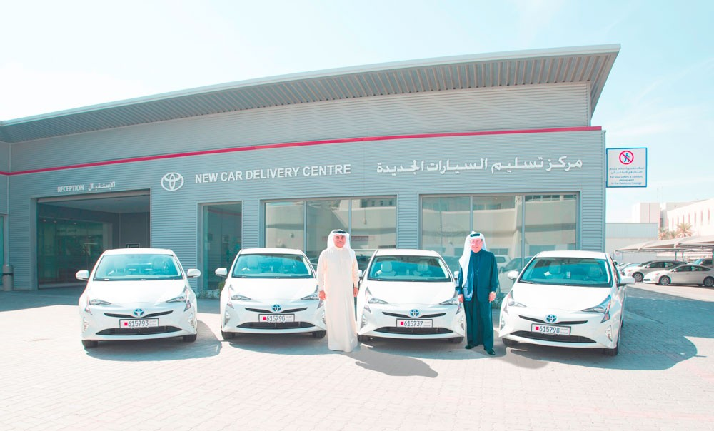 درة البحرين تختار تويوتا Prius