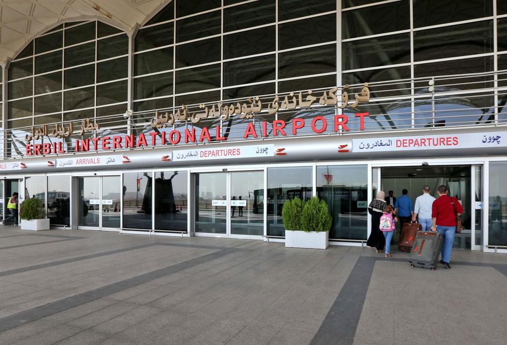 مطار أربيل: تمديد حظر الرحلات لمطارات الإقليم 3 أشهر