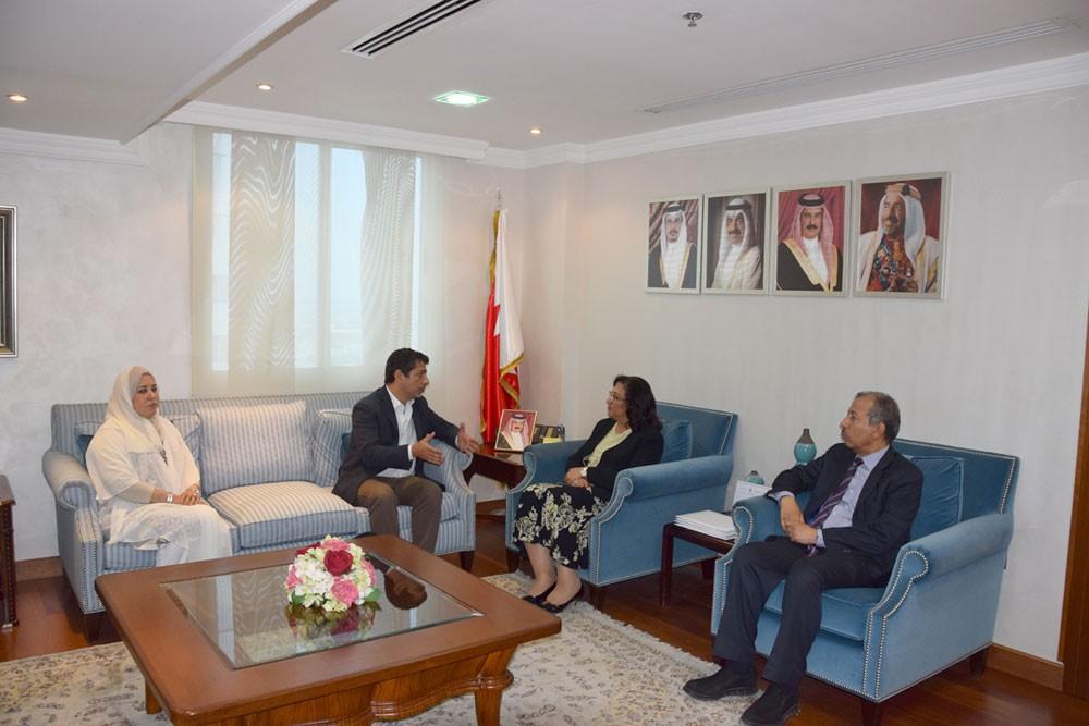 وزيرة الصحة تستقبل خبير منظمة الصحة العالمية لفرق الطوارئ الطبية لإقليم شرق المتوسط
