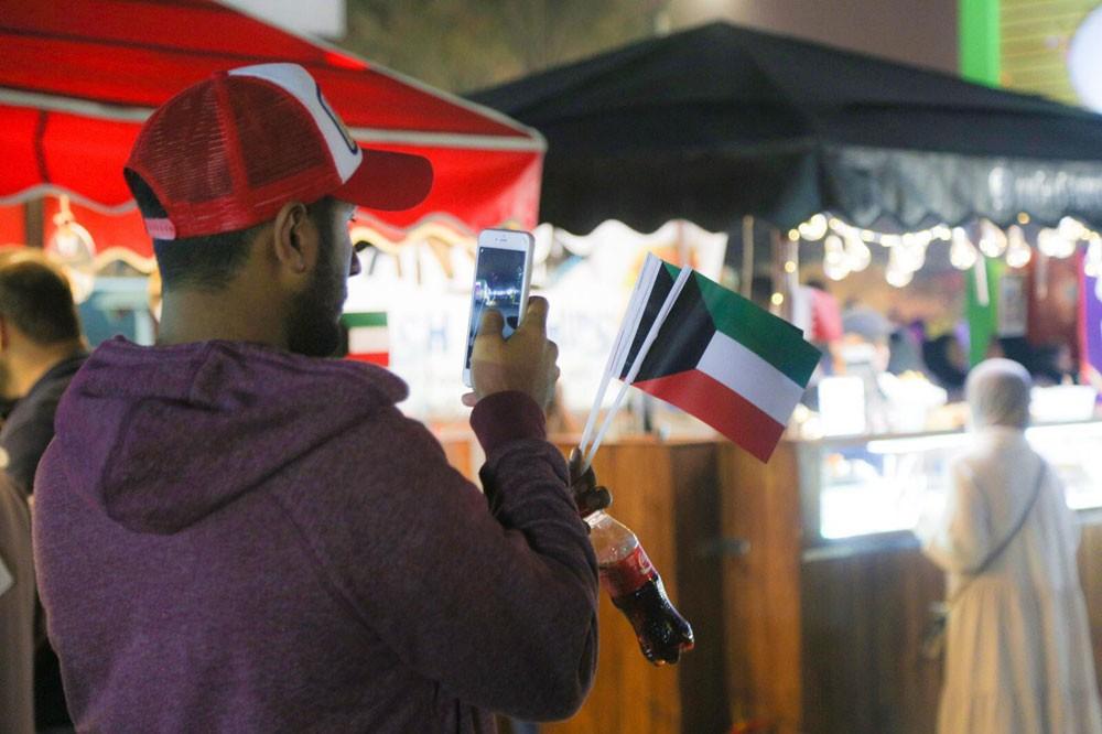 هيئة البحرين للسياحة والمعارض تشارك دولة الكويت إحتفالها بالعيد الوطني