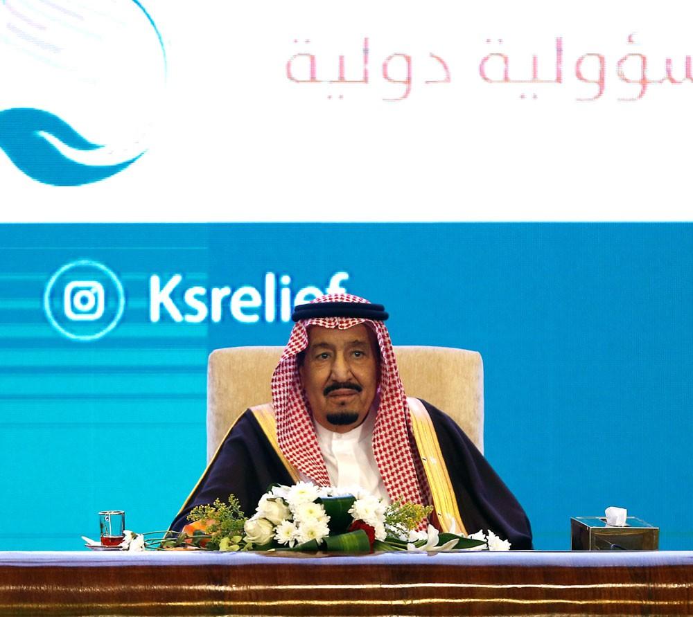 ناصر بن حمد يقدر دعم الملك سلمان للعمل الخيري والإنساني