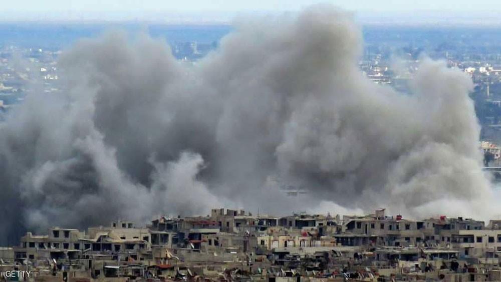 مقترح الهدنة الروسي يفشل في وقف قصف الغوطة