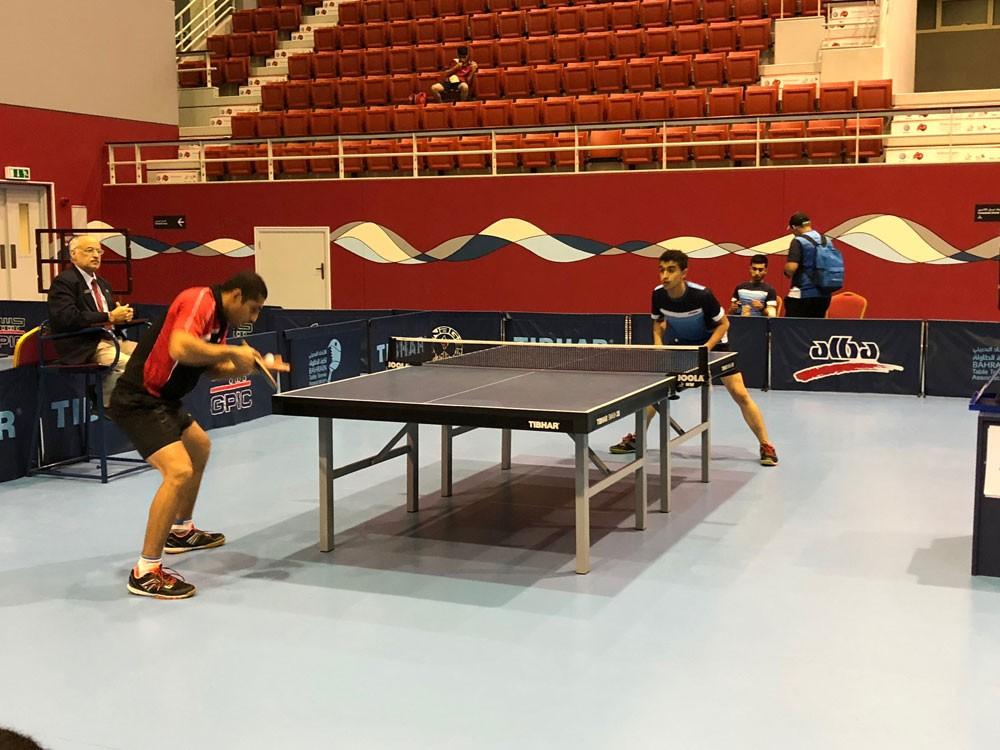 فوز البحرين والبسيتين وباربار في دوري العموم لكرة الطاولة