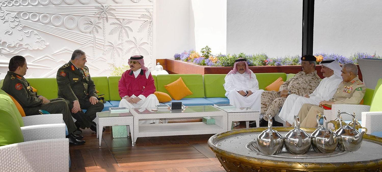 الملك يشيد بإسهامات الأردن في دعم ركائز الأمن والاستقرار بالمنطقة