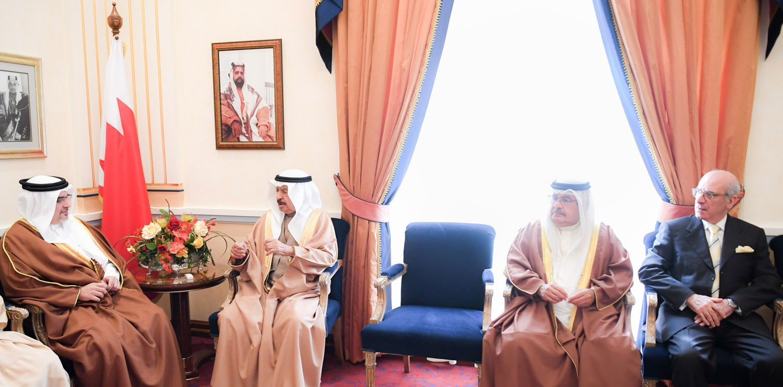 رئيس الوزراء وولي العهد: البحرين تُدرك دقة وتحديات المرحلة وما تتطلبه من تنسيق إقليمي