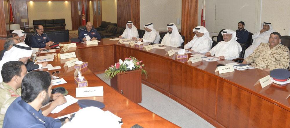 رئيس الأمن العام يتراس اجتماع لجنة مواجهة الكوارث