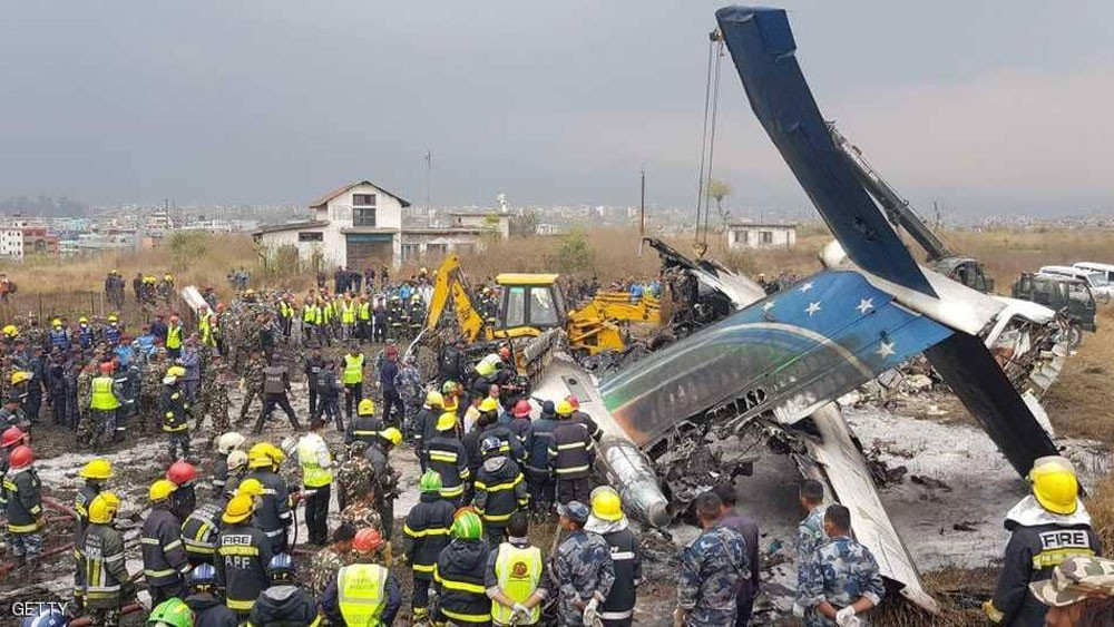 """خسائر """"ثقيلة"""" لحوادث الطيران منذ بداية 2018"""