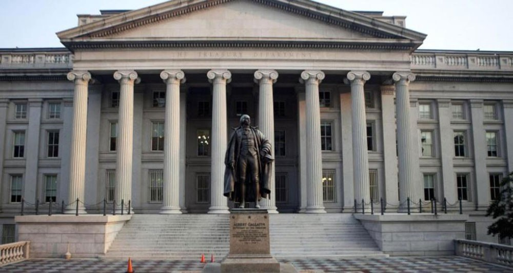 الحكومة الأمريكية تسجل 215 مليار دولار عجزا في الميزانية في فبراير