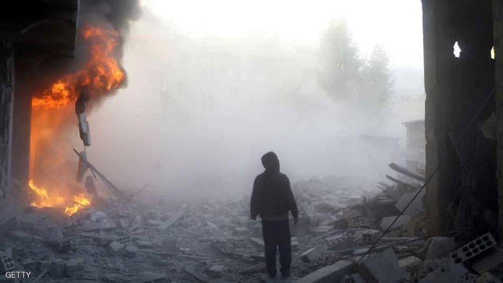 الجيش الروسي : إجلاء 76 شخصا من غوطة دمشق