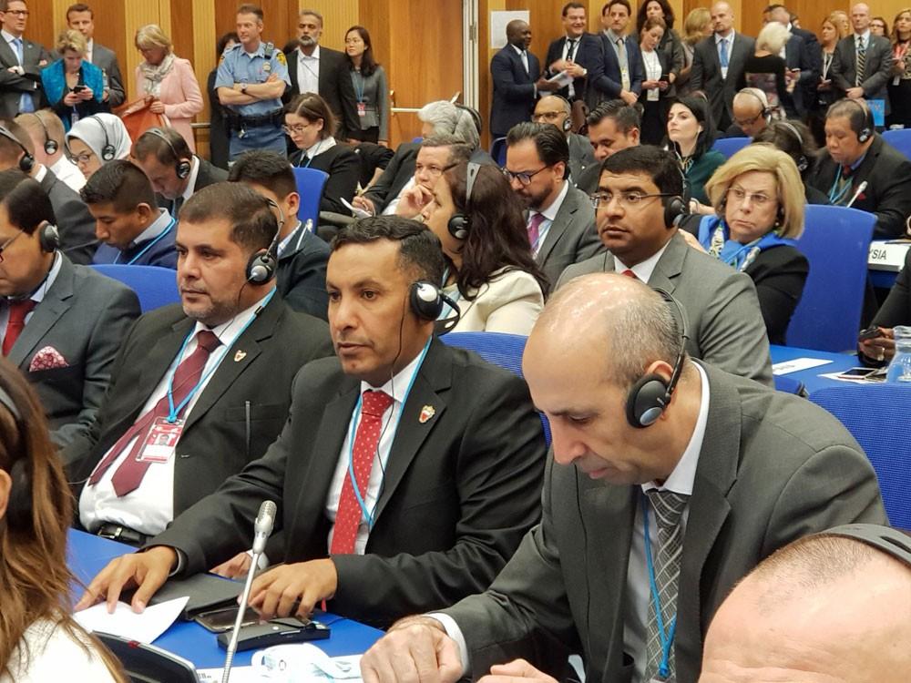 مدير عام المباحث يشارك في اجتماع لجنة المخدرات التابعة للأمم المتحدة