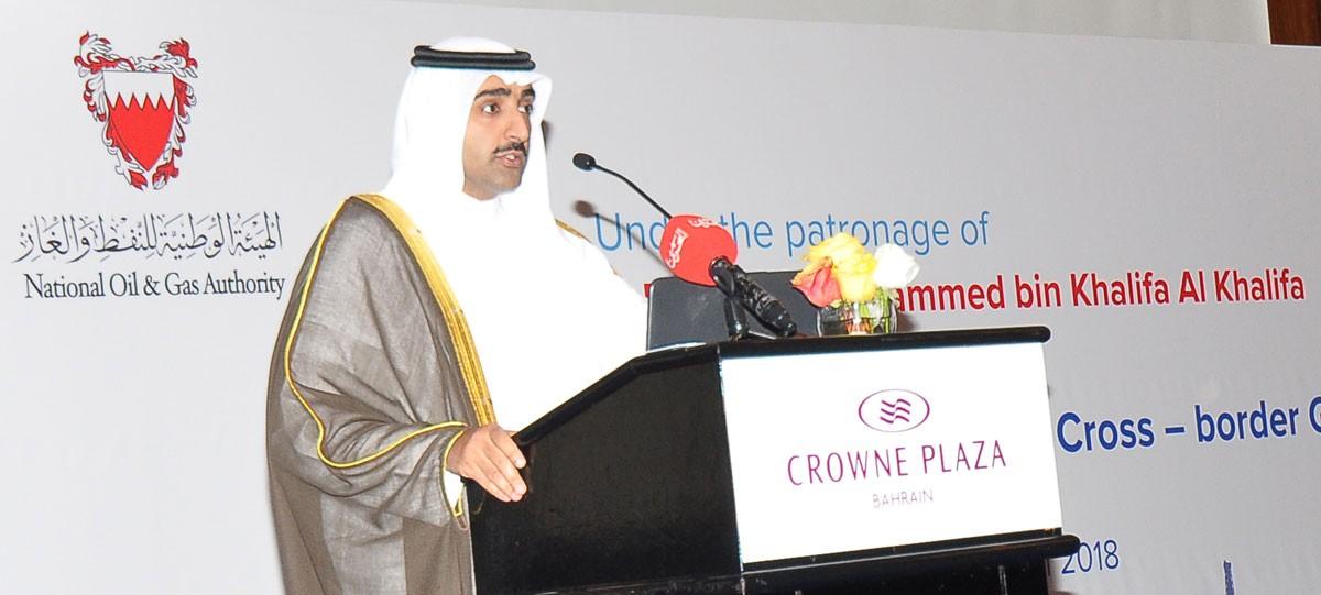 وزير النفط: إنجاز محطة غاز البحرين نهاية العام