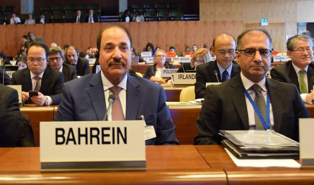 حميدان يترأس وفد مملكة البحرين في اجتماعات مجلس إدارة منظمة العمل الدولية بجنيف