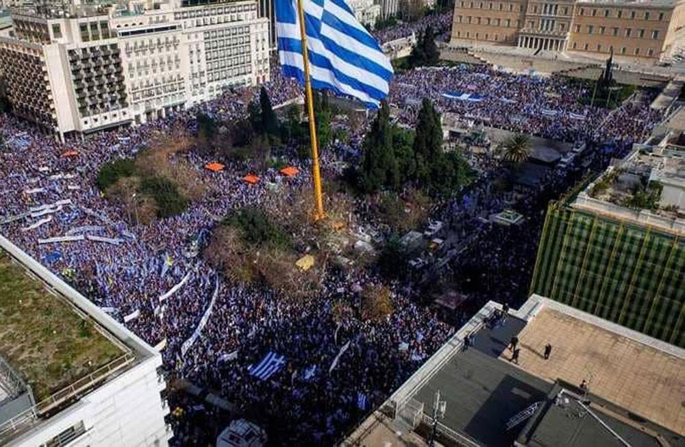 اليونان ترسل مقترحاتها لتغيير اسم جارتها