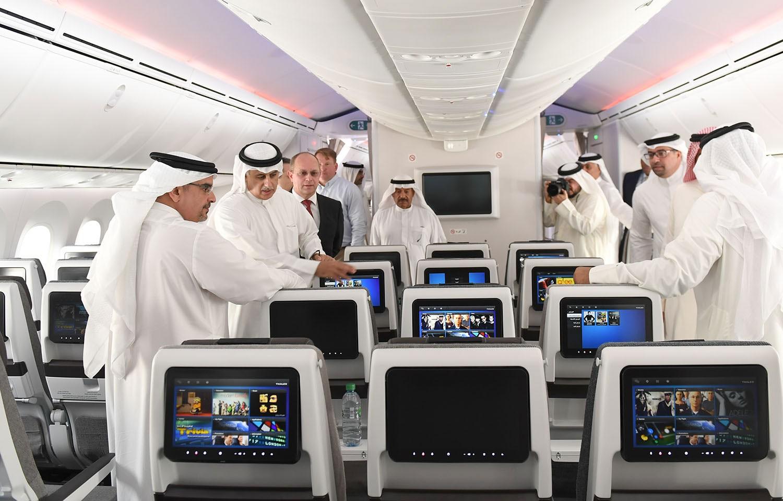 سمو ولي العهد: تعزيز القدرة التنافسية لطيران الخليج بما يتناسب وعراقة اسمها