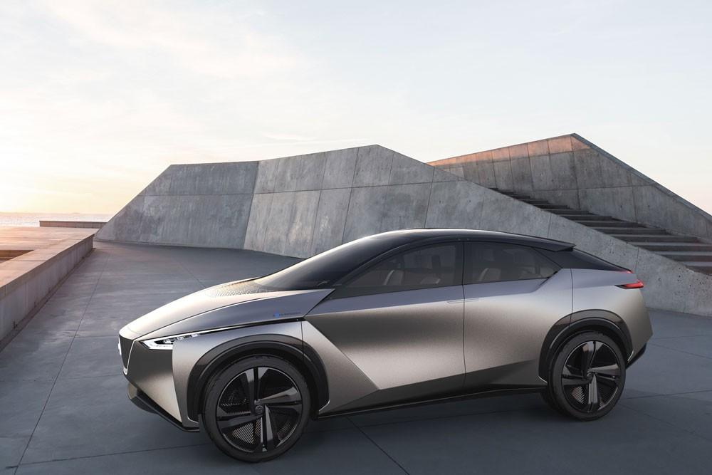 نيسان تعرض 3 سيارات كهربائية في الصين للسيارات 2018