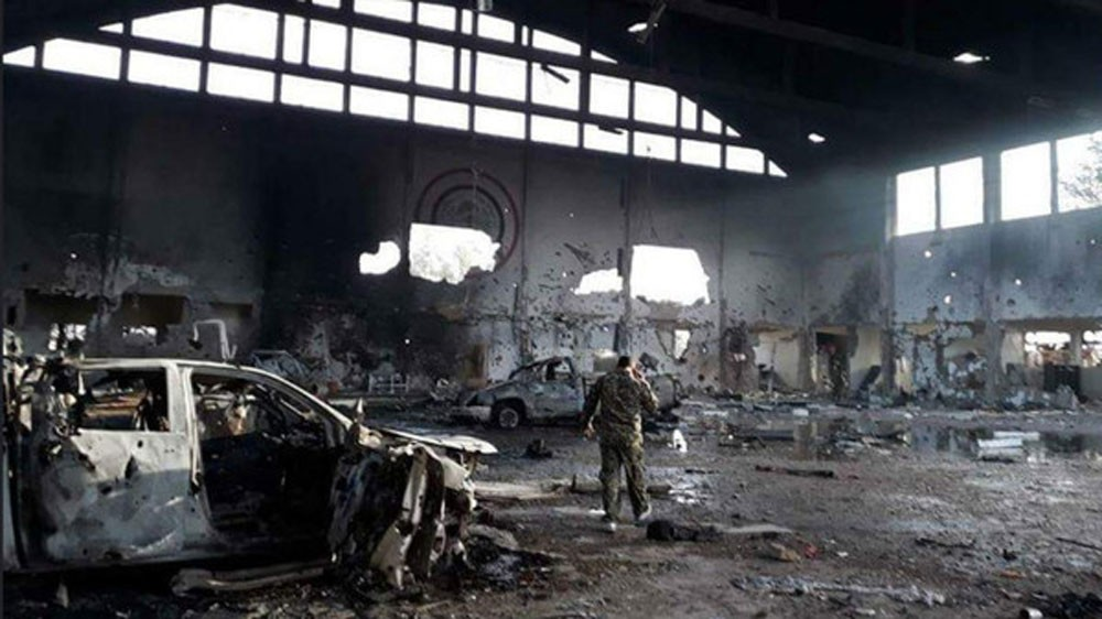 "صور دمار بالتيفور.. إعلام إيران يعلن ""هنا قتل مواطنونا"""