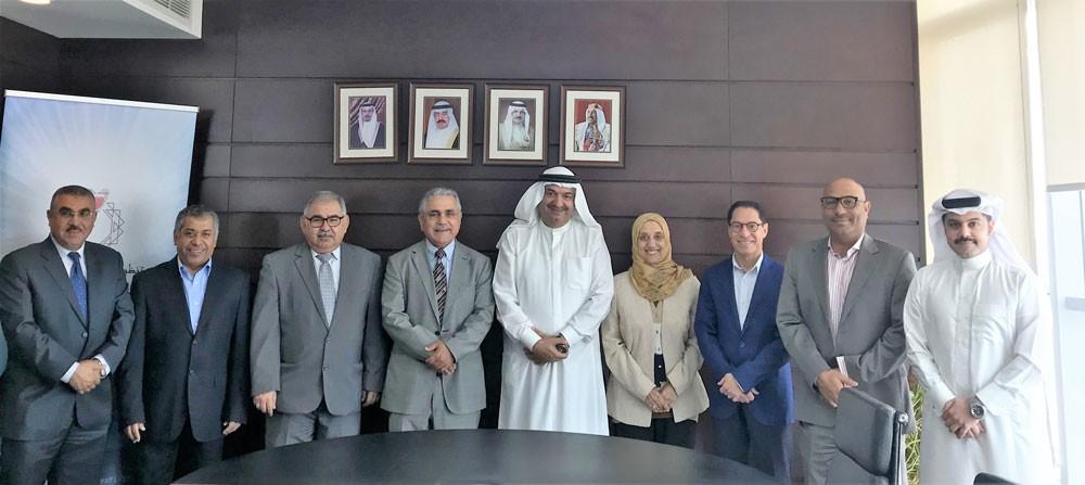 """""""المهن الهندسية"""" و""""جمعية المهندسين البحرينية"""" يبحثان تعزيز التنسيق والتعاون"""