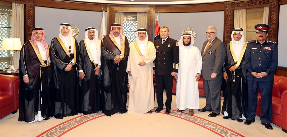 وزير الداخلية: البحرين تعمل وبشكل مستمر على تشجيع هذه مؤتمرات الإطفاء والسلامة العامة
