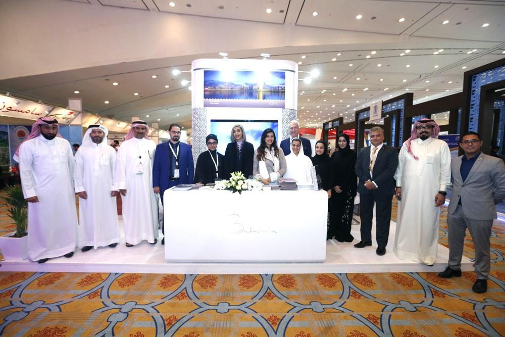 هيئة البحرين للسياحة والمعارض تشارك في معرض الرياض للسفر2018