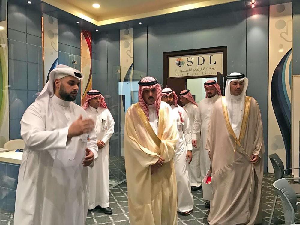 بحث التعاون بين مكتبة الملك حمد الرقمية والمكتبة الرقمية السعودية
