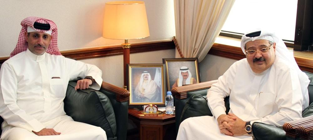 رئيس هيئة الكهرباء يستقبل رئيس حلبة البحرين الدولية