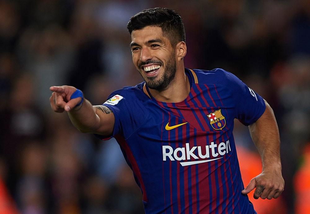 هدافي الدوري الإسباني ،، سواريز يزاحم رونالدو على الوصافة بهدفه في فالنسيا