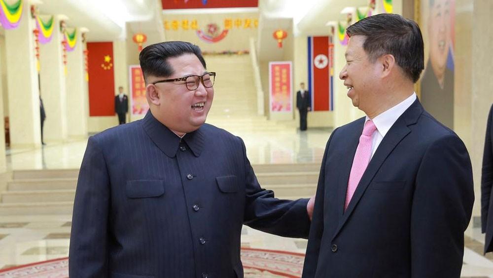 كيم جونغ أون يلتقي مع مسؤول صيني كبير