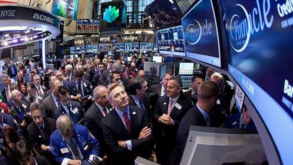 تراجع بورصة نيويورك بضغط أداء البنوك وصراع سوريا