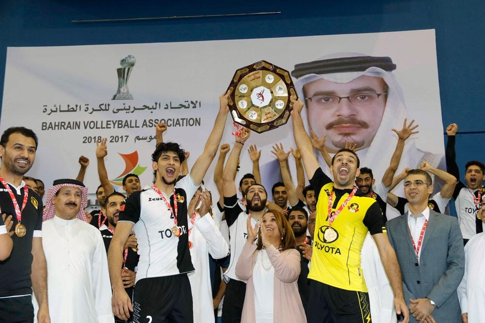 علي بن محمد: الأهلي استحق بطولة دوري الطائرة بجدارة واستحقاق