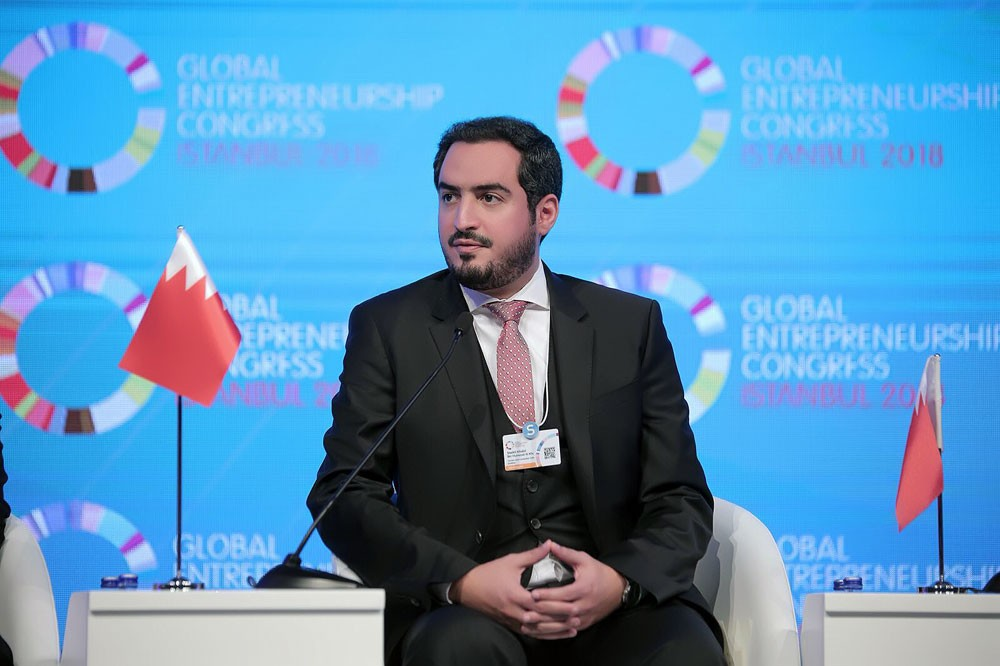 الرئيس التنفيذي لهيئة البحرين للسياحة والمعارض يشارك في المؤتمر العالمي لريادة الأعمال