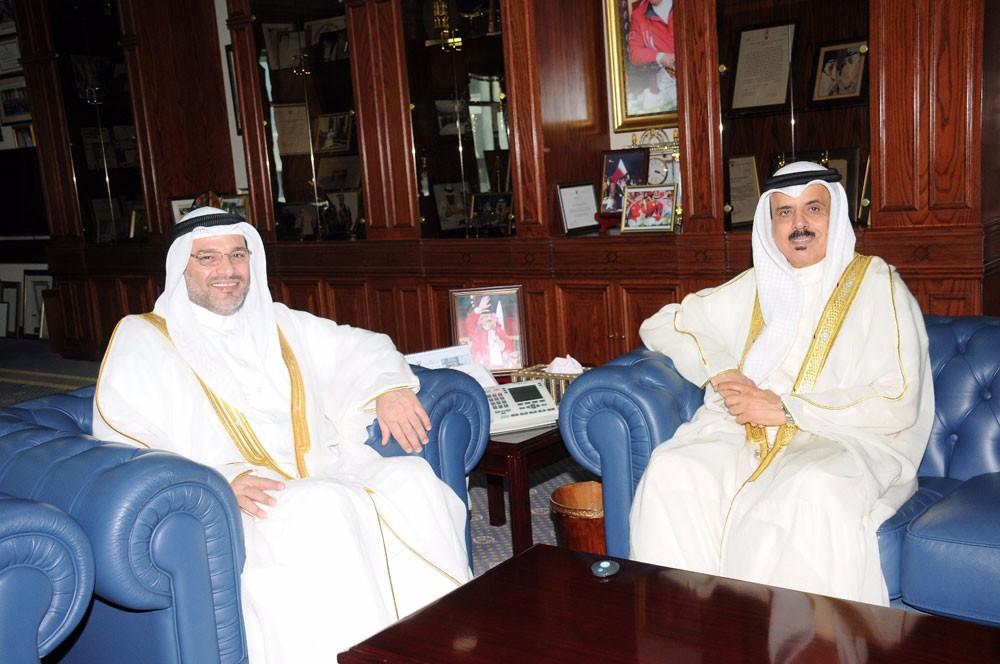 وزير التربية والتعليم يستقبل النائب عبدالحميد النجار