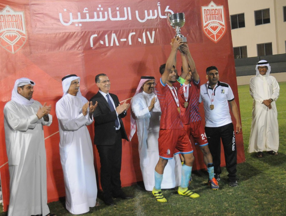 الشباب بطلاً لكأس الناشئين لكرة القدم