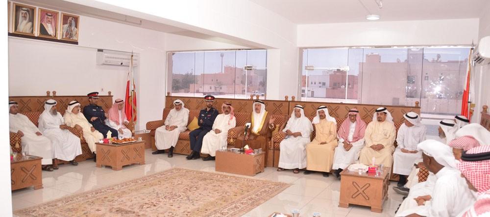 محافظ المحرق : حكمة جلالة الملك المفدى تسير بالبحرين نحو الإنجازات