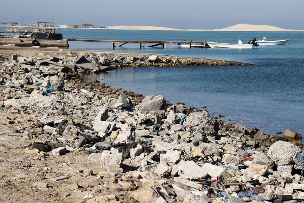 تدشين المرحلة الثانية من عمليات تحسين وتجميل ساحل جد الحاج