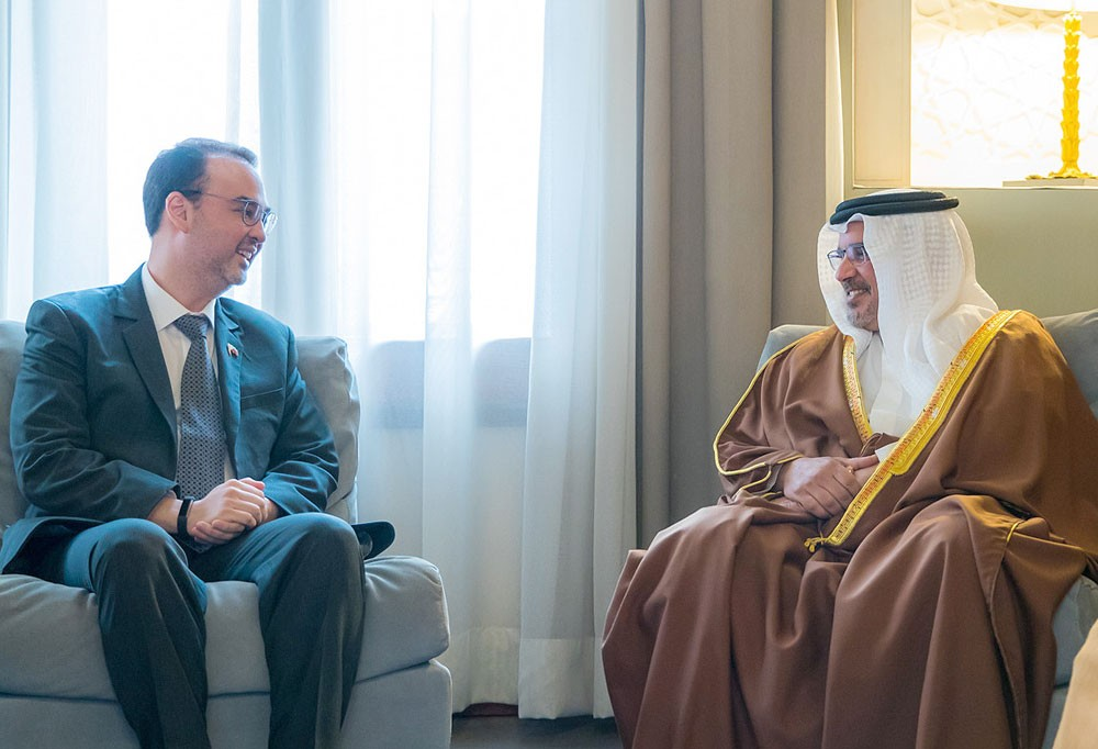 سمو نائب جلالة الملك : مواصلة تعزيز علاقات البحرين الواعدة مع دول شرق آسيا