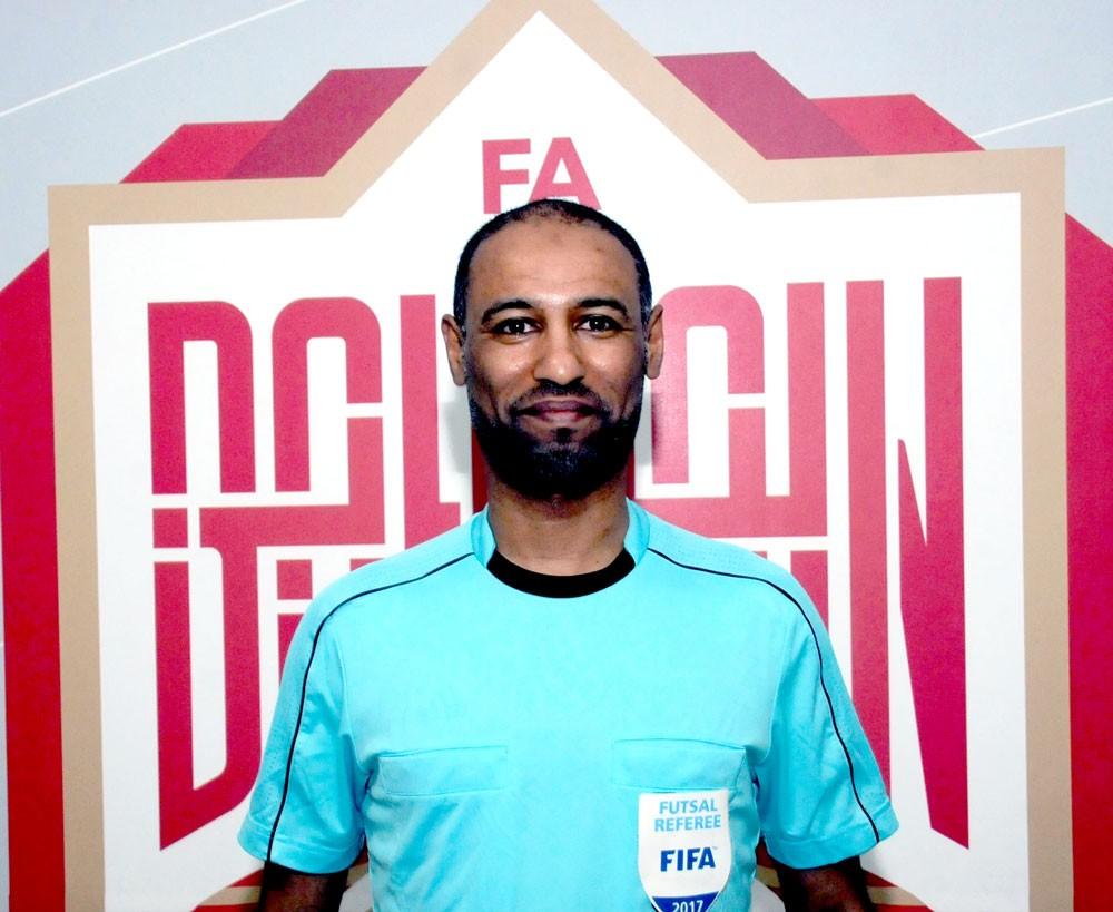 الحكم إدريس يختتم مشاركته في كأس آسيا لكرة الصالات للسيدات