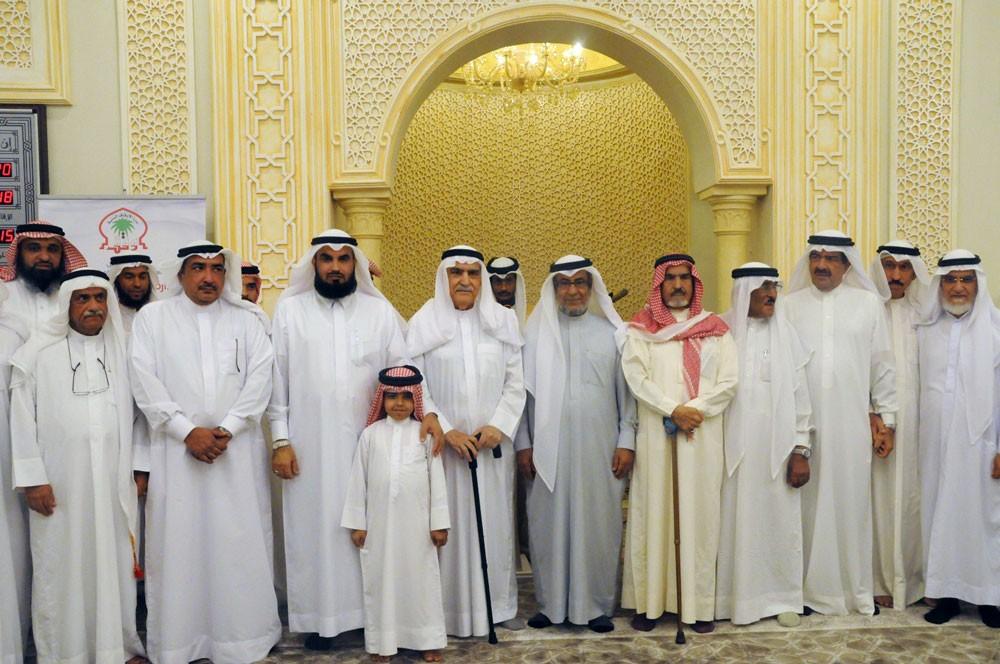 الهاجري يفتتح مسجد أحمد عبدالرحمن بوعلي  بالحد