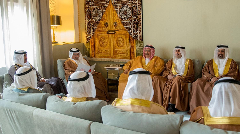 رسالة خطية لجلالة الملك المفدى من سمو أمير دولة الكويت