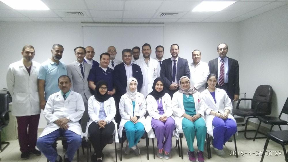 قسم الجراحة بالسلمانية يستضيف الدكتور فيصل الهاجري ضمن برنامج الطبيب الزائر