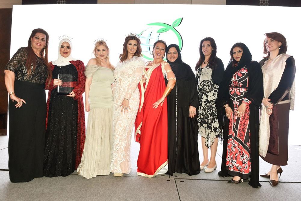 سوزان نجم الدين تحصد جوائز كوتينوس اليونانية  في دبي