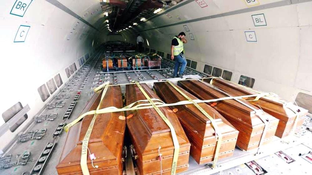 بعد عامين.. تشييع جثامين 20 مصريا ذبحوا في ليبيا
