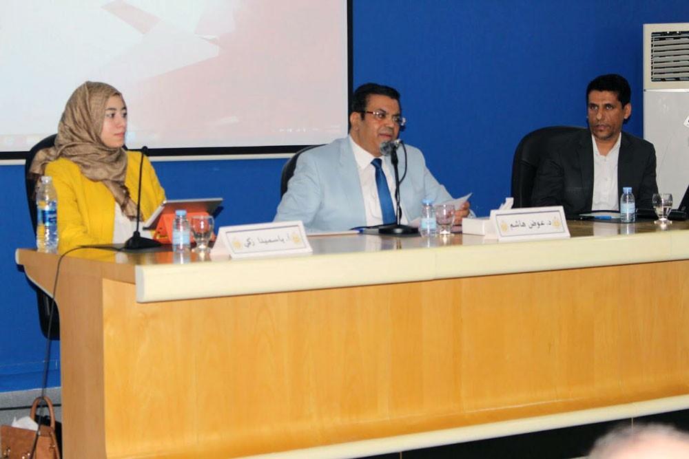 حلقة نقاشية لطلبة الدراسات العليا بجامعة البحرين عن سيميائية الصورة